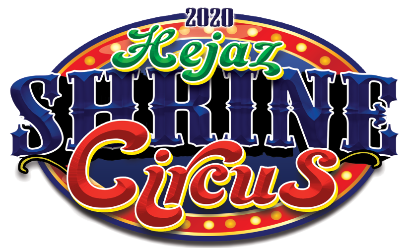 2017 Hejaz Shrine Circus Logo